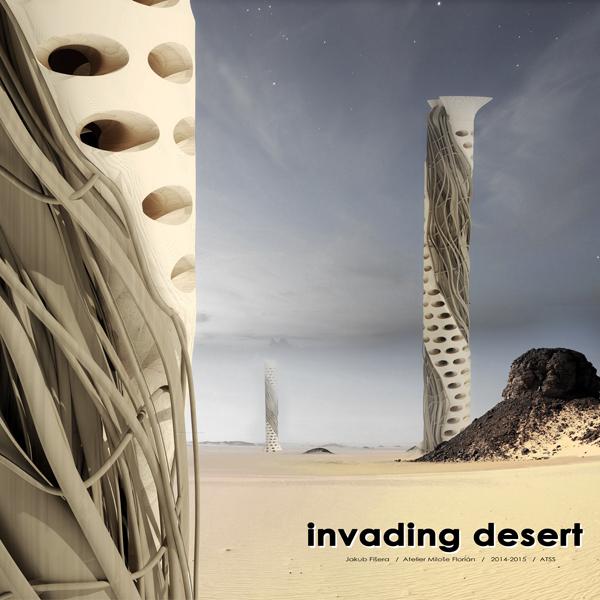 Jakub Fišera   invading desert