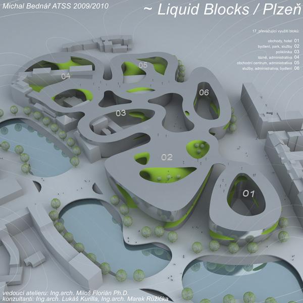 Michal Bednář | Liquid Blocks