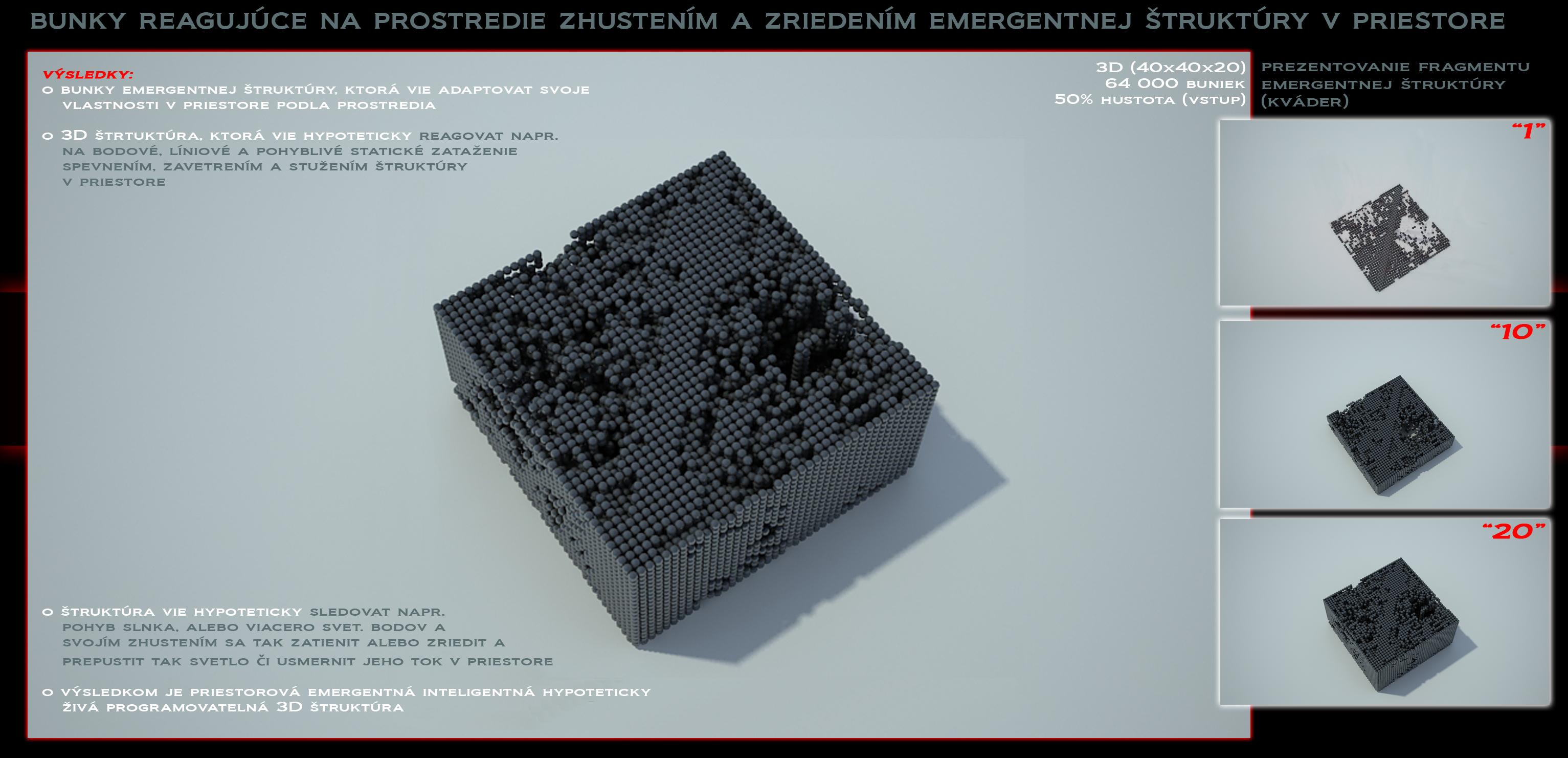 Ing. arch. Michal Valúšek | EMERGENTNÁ ŠTRUKTÚRA