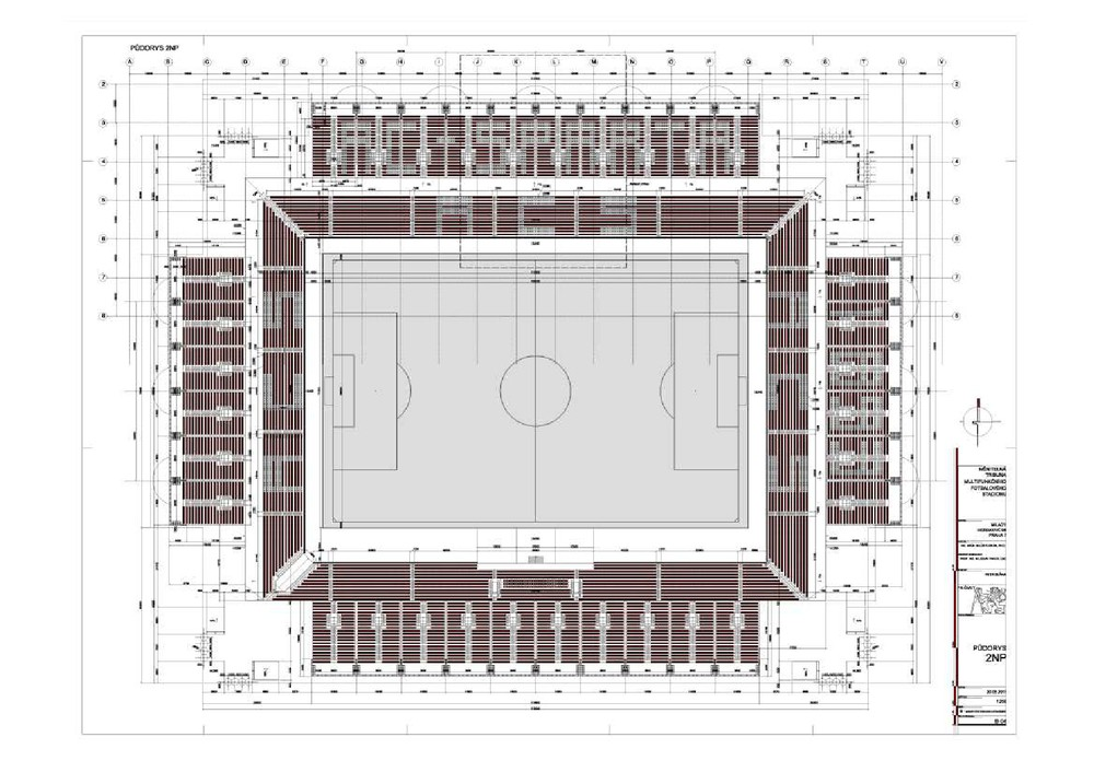 Petr Bláha | Měnitelná tribuna fotbalového stadionu