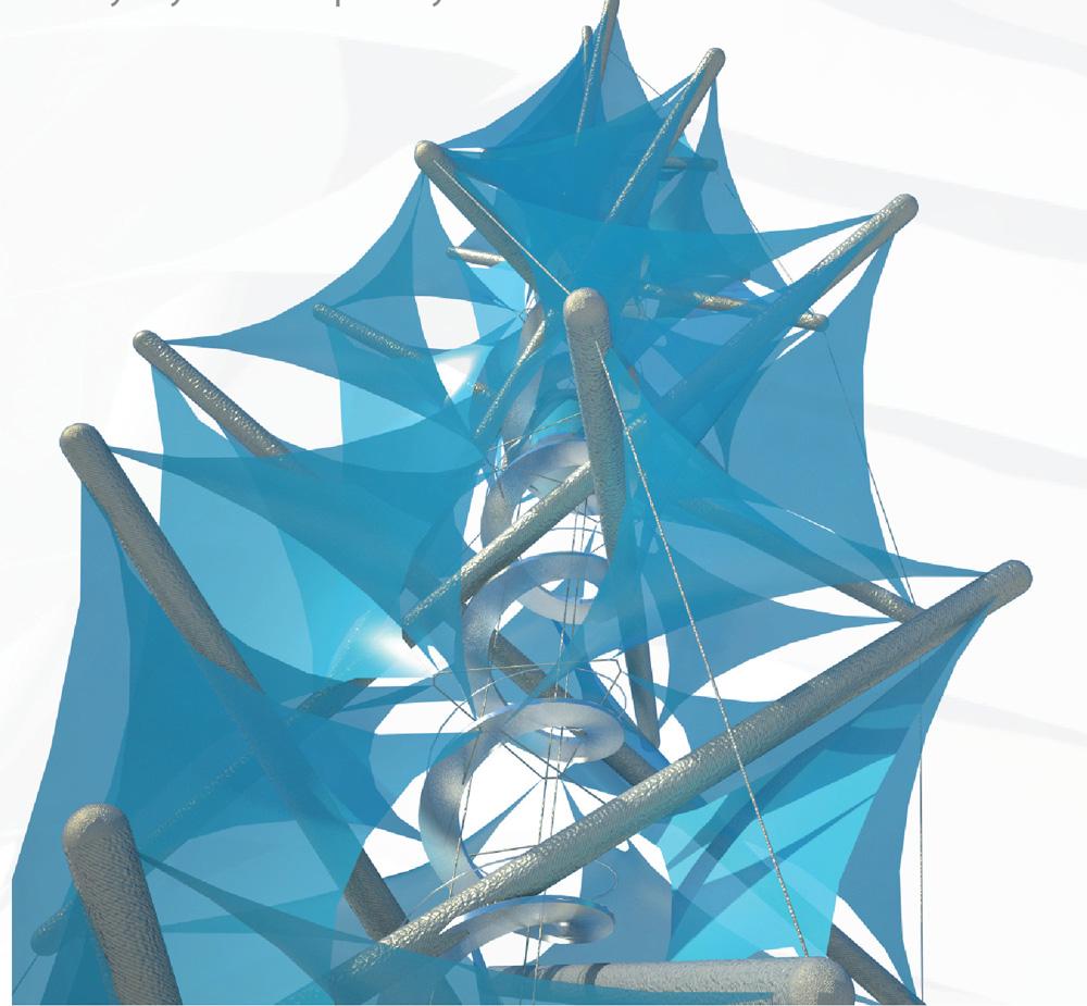 Pavel Borůvka | Tensegrity membrane tower