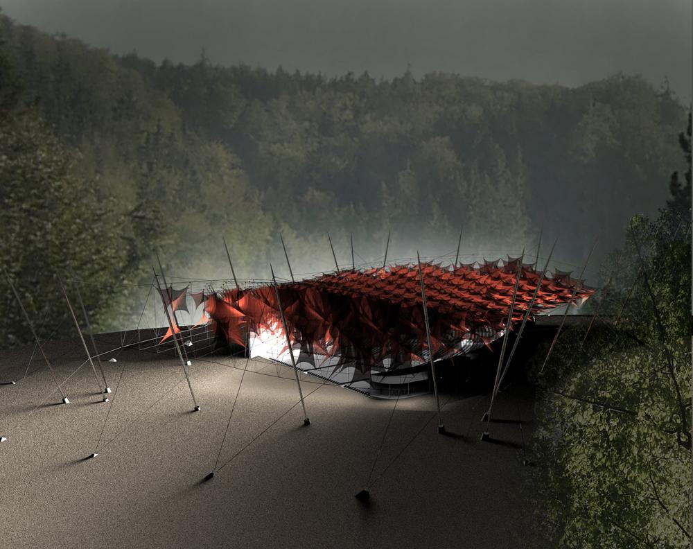 Klára Švecová | přístřešek nad letním kinem