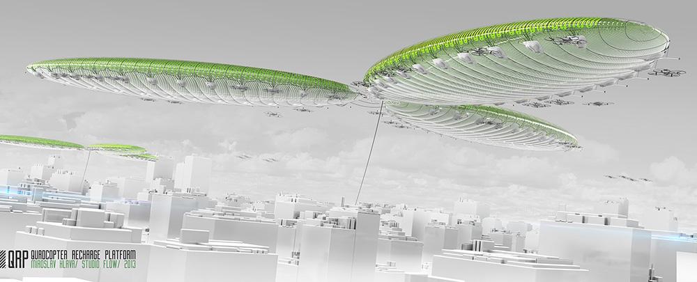 Miroslav Hlava | Quadcopter recharge platform