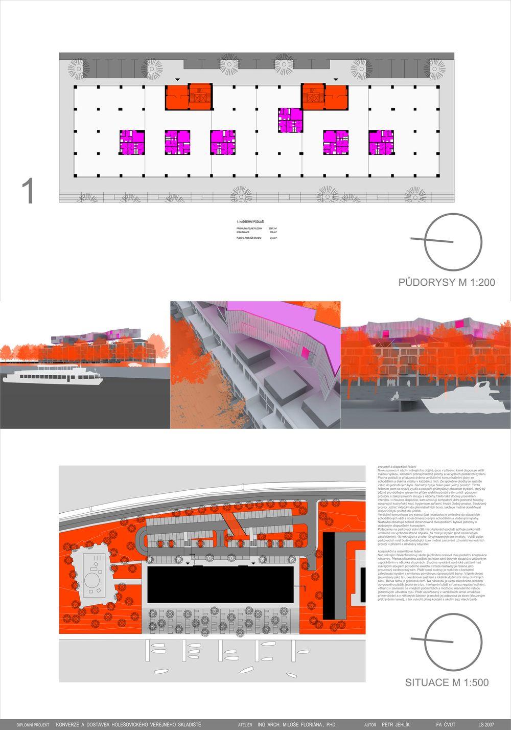 Petr Jehlík | Konverze a dostavba holešovického skladiště