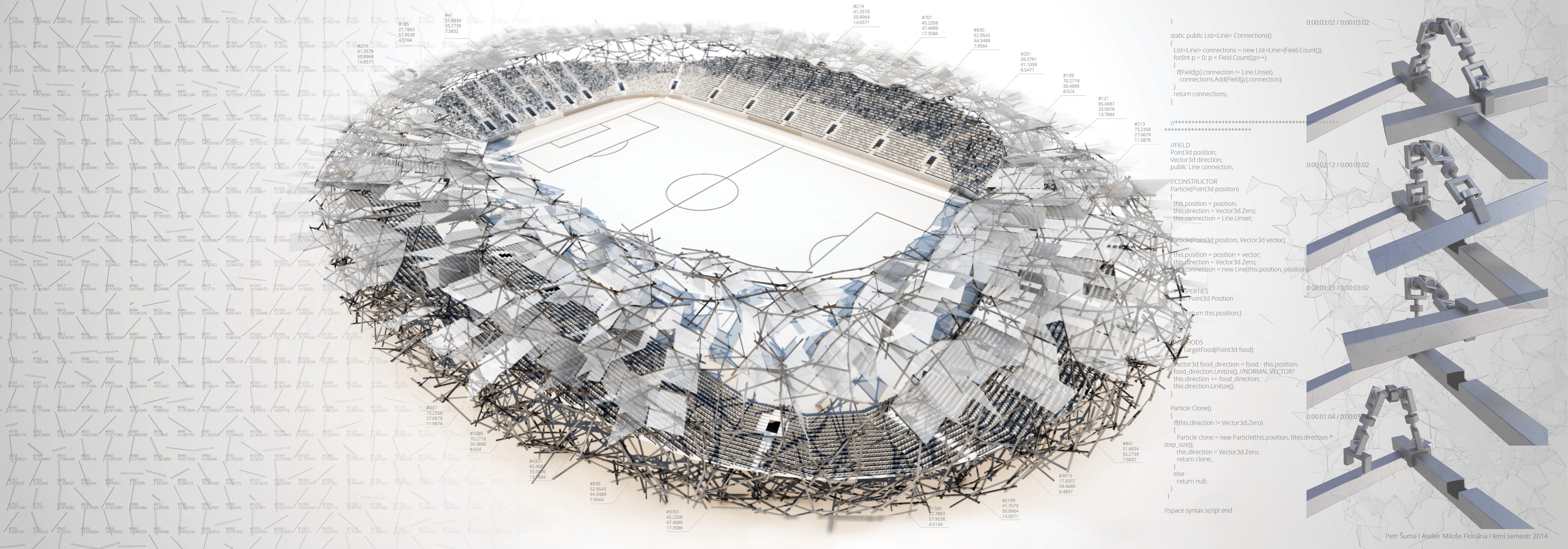 Petr Šuma | Zastřešení stadionu