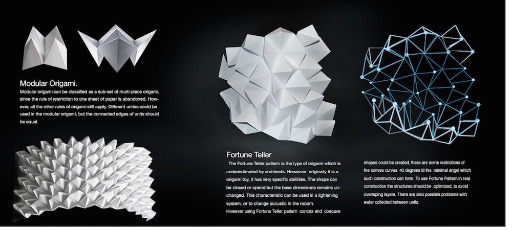 Origami Dragon Circis