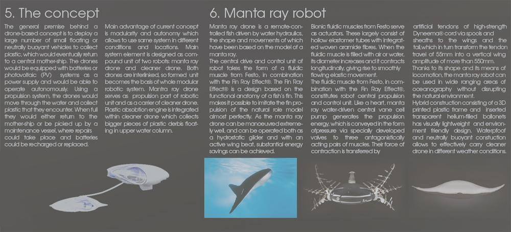 Maslovskiy Oleg | Ocean robotic cleaning system