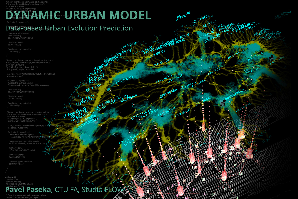 Pavel Paseka | D.U.M. – Dynamic Urban Model