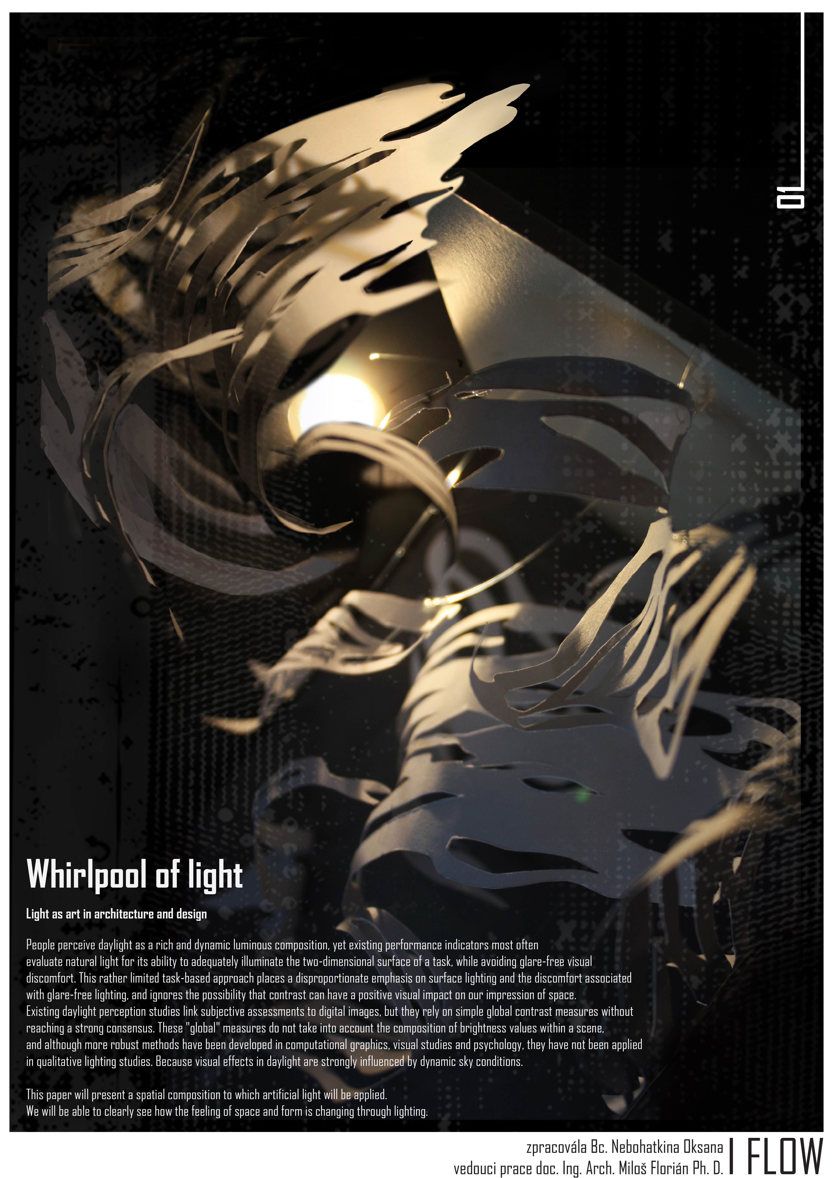 Nebohatkina Oksana   Whirlpool of light