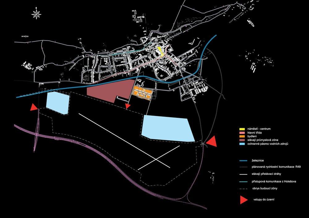 Jan Kalfus   Průmyslová zóna Holešov (Cellular Automata)