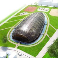 Martin Císař: Městská sportovní hala v Kutné Hoře